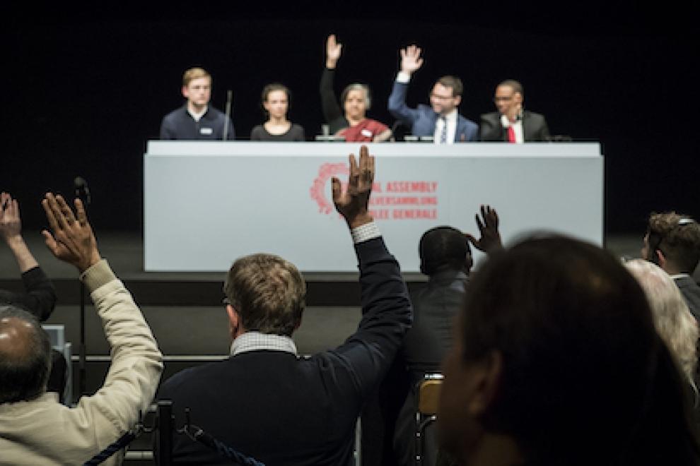 To Imagine an Alternative: Milo Rau's General Assembly (November 3-5,2017)